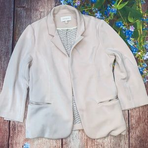 Skies Are Blue Blush Pink Soft Open Lined Jacket S